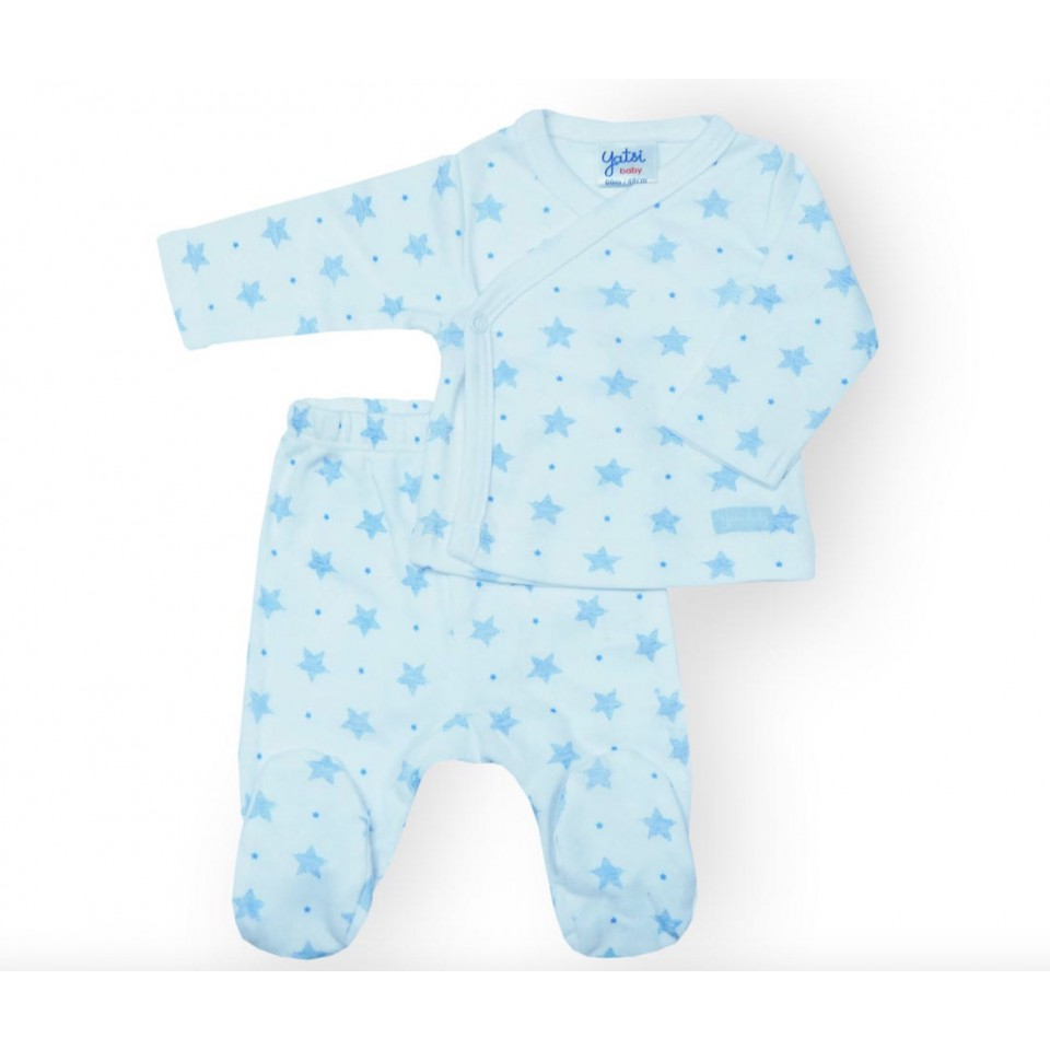 3-Piece Newborn set with grey stars