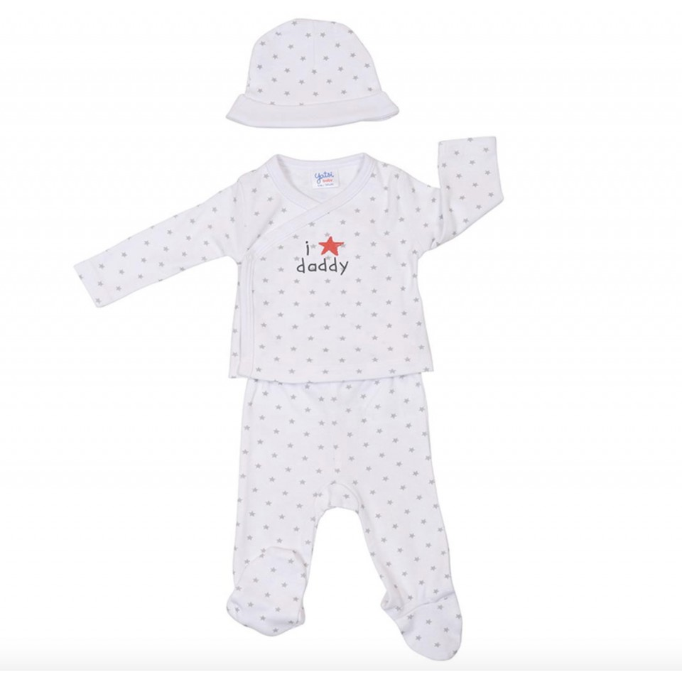 3-Piece Newborn set I love daddy