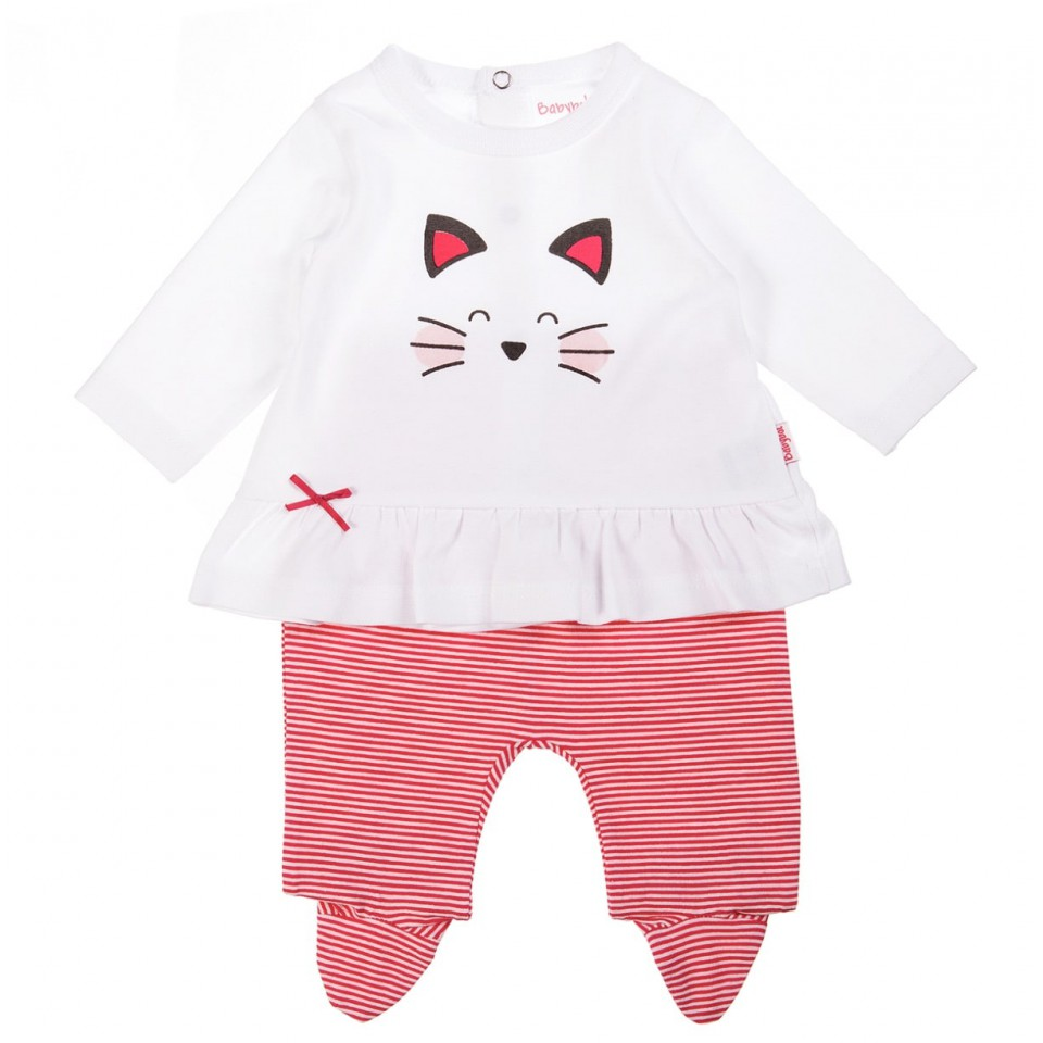 2-Pieces cat baby girl