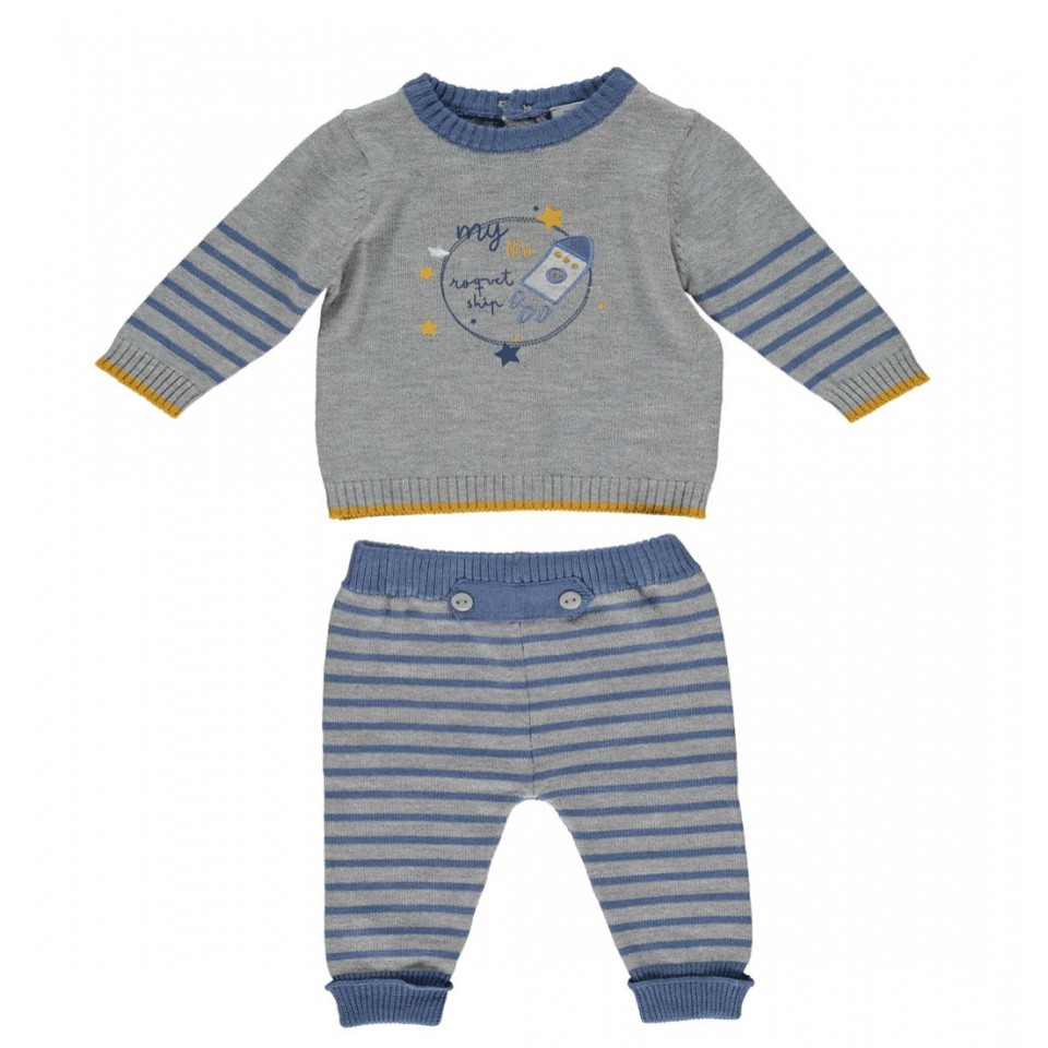 SKATE BABY TRACKSUIT GRREN/GREY