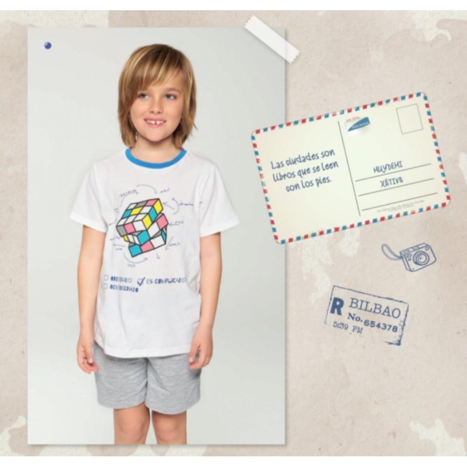Pijama niña/niño cubo de Rubik