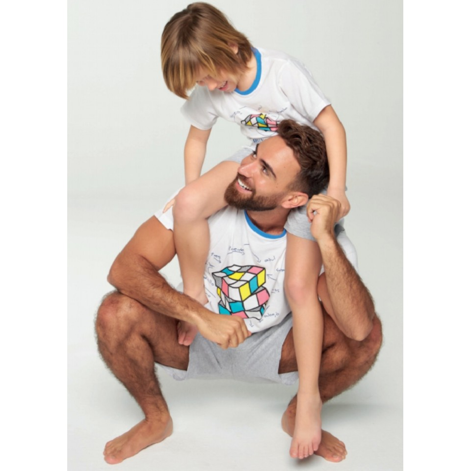 Pijama papá cubo de Rubik